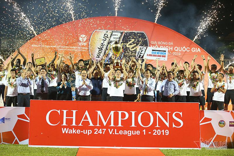 Các đội bóng vô địch V League nhiều nhất tính đến mùa giải 2021 – 2022