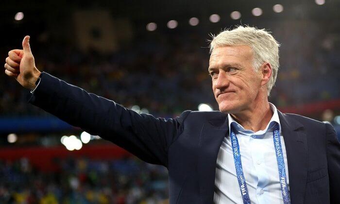 Huấn luyện viên trưởng - Didier Deschamps người cầm quân cho đội hình Pháp World Cup 2018