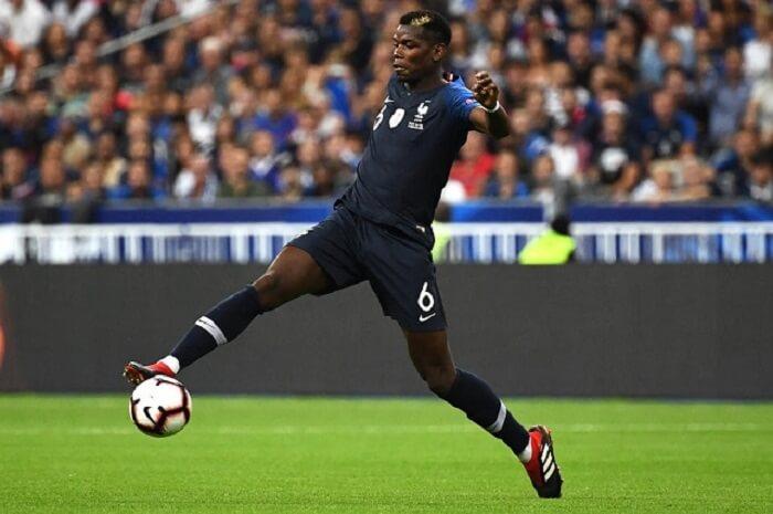 Paul Pogba là ngôi sao sáng giá trong đội hình của Pháp tham dự WC 2018